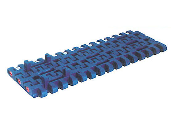 Plastic Modular Belt 1005 Flat Top With Positrack (A) | Trindo Sukses Mandiri