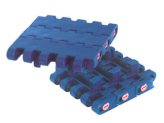 Plastic Modular Belt 1005 Flat Top With Positrack (B) | Trindo Sukses Mandiri