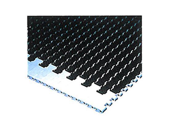 Plastic Modular Belt 1400 Square Friction Top | Trindo Sukses Mandiri