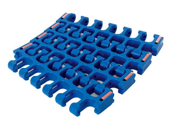 Plastic Modular Belt 2400B Radius Flush Grid | Trindo Sukses Mandiri