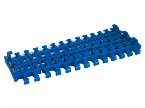 Plastic Modular Belt 2400C Radius Flush Grid With TAB | Trindo Sukses Mandiri