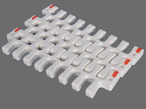 Plastic Modular Belt 2400D Radius Flush Grid | Trindo Sukses Mandiri