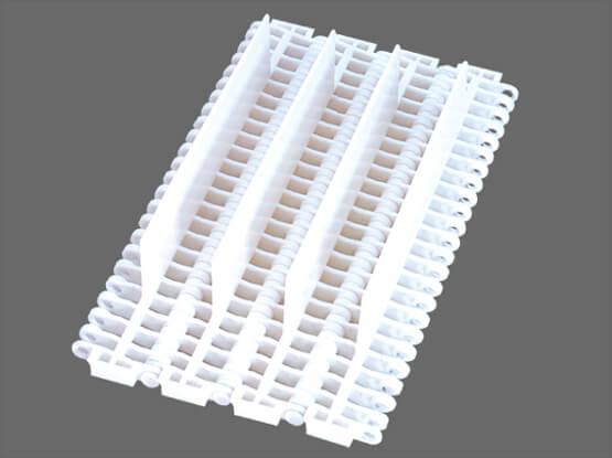 Plastic Modular Belt 900 Flush Grid Base Flights | Trindo Sukses Mandiri