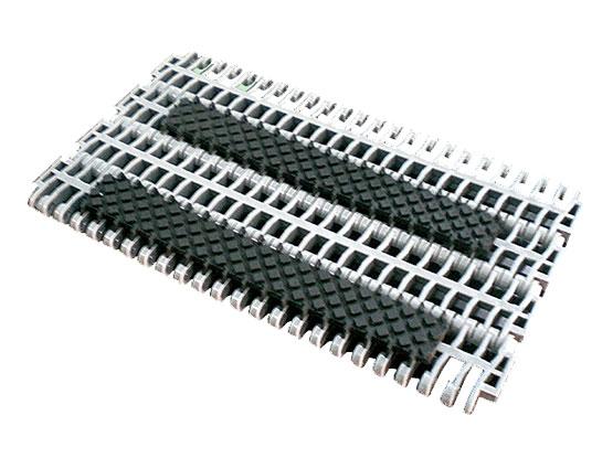 Plastic Modular Belt 900 Square Friction Top | Trindo Sukses Mandiri