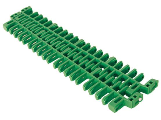 Plastic Modular Belt IS615 Radius Flush Grid | Trindo Sukses Mandiri