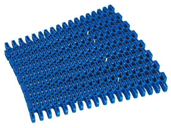 Plastic Modular Belt FLS254 Radius Flush Grid | Trindo Sukses Mandiri