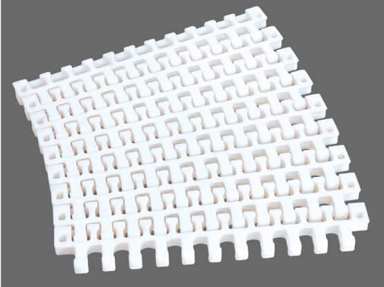 Plastic Modular Belt M2540 Radius Flush Grid | Trindo Sukses Mandiri