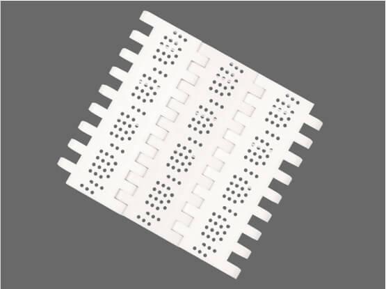 Plastic Modular Belt OPB Perforated Flat Top | Trindo Sukses Mandiri